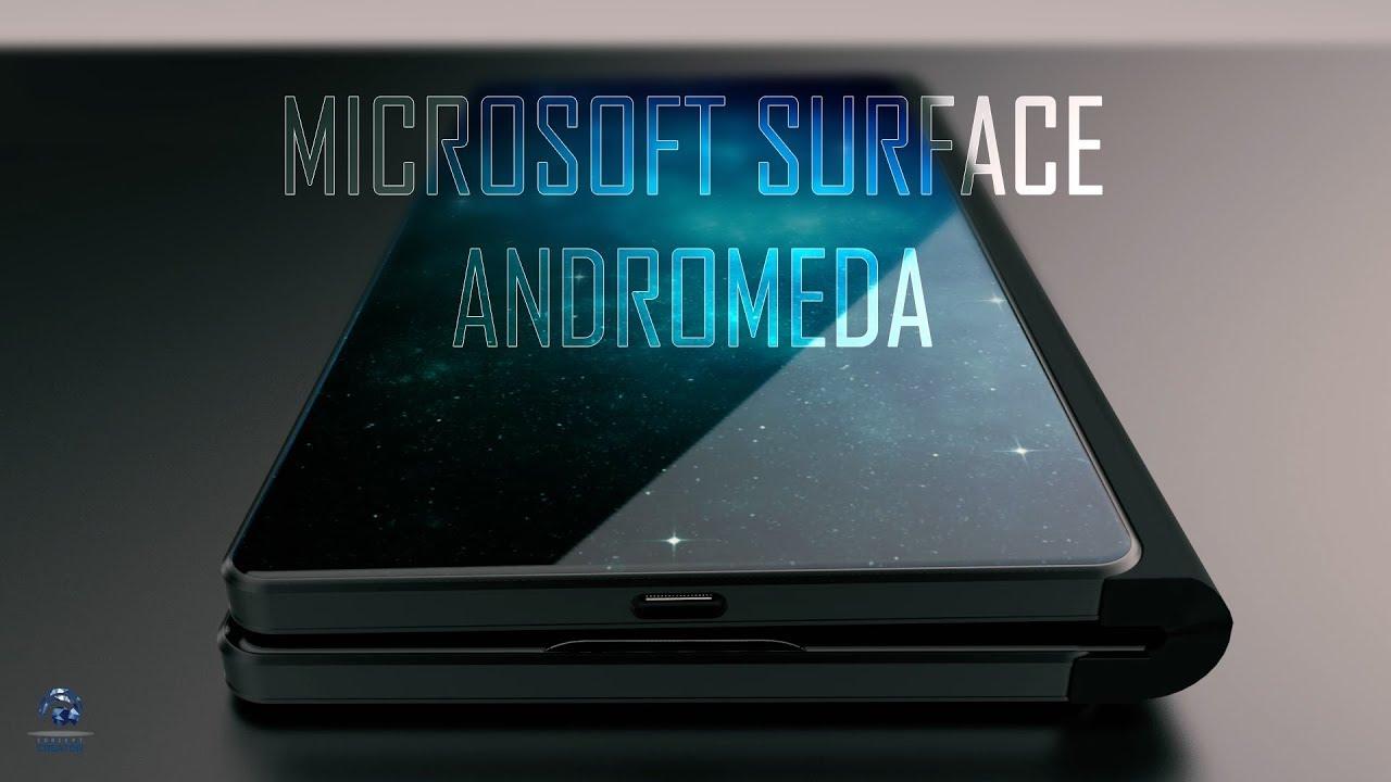 Microsoft Surface Foldable Phone Andromeda revealed!