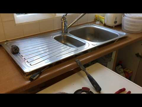 Fitting  New  kitchen  work top    1 February 2018