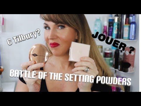 New - Jouer Soft Focus Hydrate & Set Powder - Battle Of The Setting Powders !