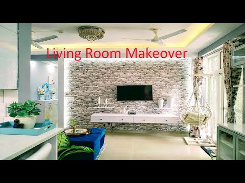 living-room-makeover- -banjara-market-products- -make-it-with-richa