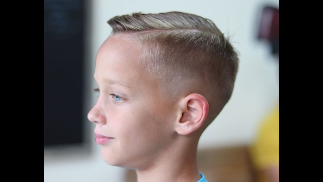 Bald Fade Haircut Kids 25