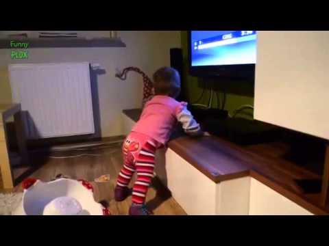 Thumbnail: Top 10 Funny Baby Videos Compilation 2014