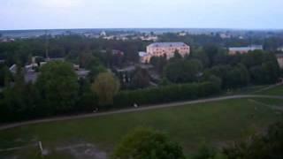 Березне (вигляд  із вишки Лісового коледжу)(видео зняте із вишки Березнівського лісового коледжу., 2011-08-08T19:18:10.000Z)