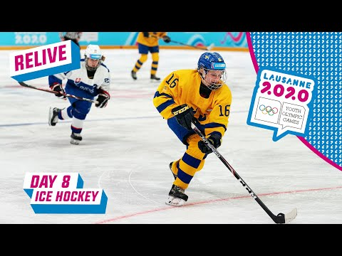RELIVE - Ice Hockey - SWEDEN - SLOVAKIA - Day 8 | Lausanne 2020