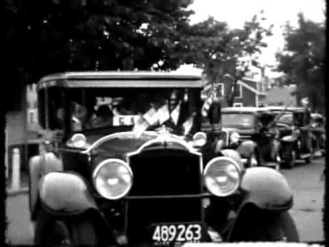 United Spanish War Veterans visits to Nantucket and Oak Bluffs, Martha's Vineyard, 1934