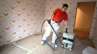 уборка помещения после ремонта. пылесос Festool CTL MIDI(, 2014-03-02T06:27:06.000Z)
