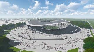 Stadionentwurf SC Freiburg - Neues SC Freiburg Stadion?