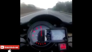 Top Speed Ninja h2 remapeada no Brasil!! 407 km