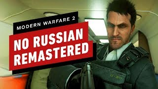 Call of Duty: Modern Warfare 2 Remastered - No Russian Mission Gameplay (4K/60fps)