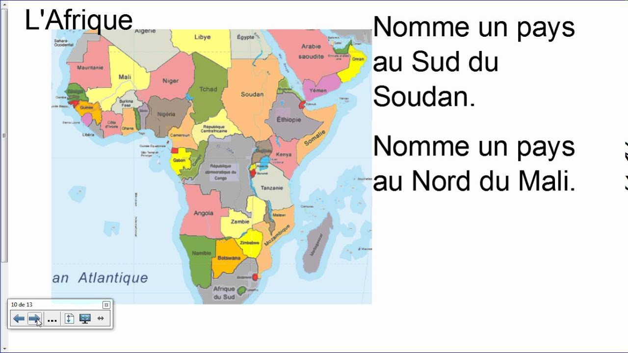 Carte Afrique Quiz.Carte Du Monde Quiz