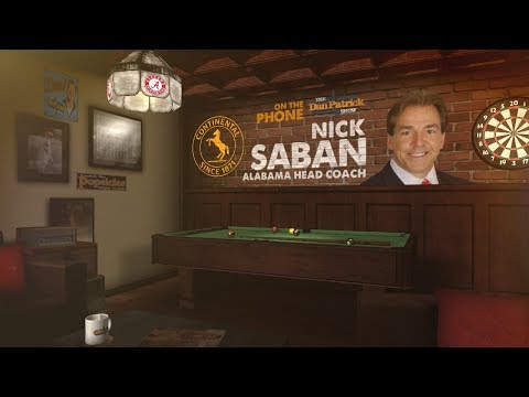 Alabama Head Coach Nick Saban on The Dan Patrick Show | Full Interview | 8/21/17