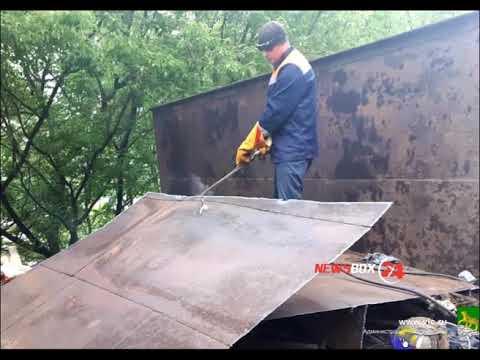 Незаконный постройки и железные гаражи пошли под снос во Владивостоке