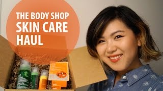 The Body Shop Skin Care Haul | Beauty Blossom Thumbnail