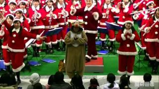 2016/12/17 大阪桐蔭高校吹奏楽部 180人のサンタコンサート 「逃げるは...