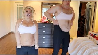 FAT PEOPLE TRY ON LULULEMON CLOTHES!