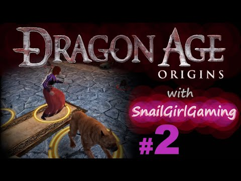 Giant Rats And A Good Dog - Dragon Age: Origins Let's Play - Part 2