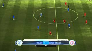 Bayern Munich - Chelsea   FIFA 12   Final UEFA Champions League 2012