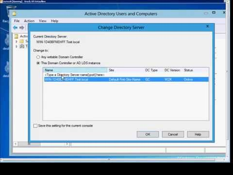 how to connect to domain controller