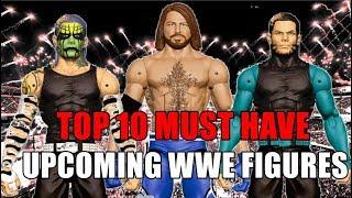 TOP 10 UPCOMING WWE FIGURES