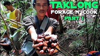 FOREST SNAIL 🐌 FORAGE N' COOK PART 1|scargot|taklong|kasama trupa ang saya