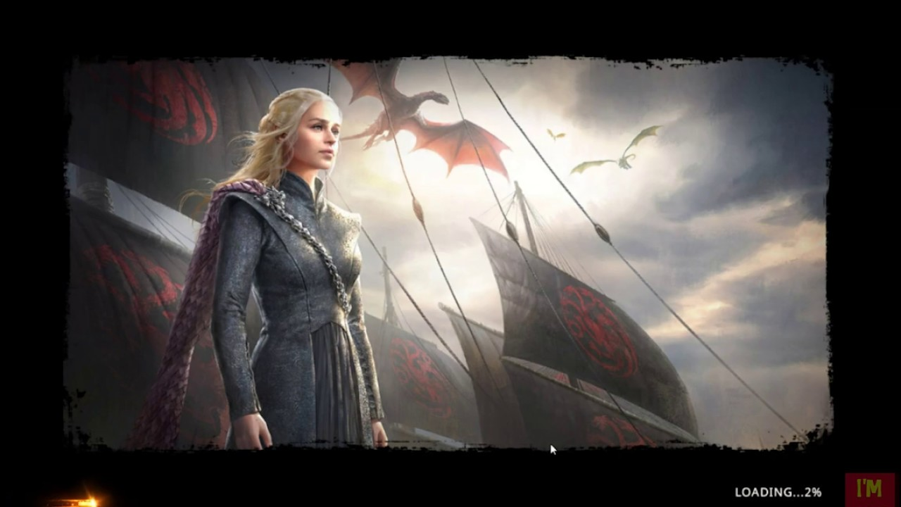 Game Of Thrones Winter Is Coming Browser Game Gameplay Youtube
