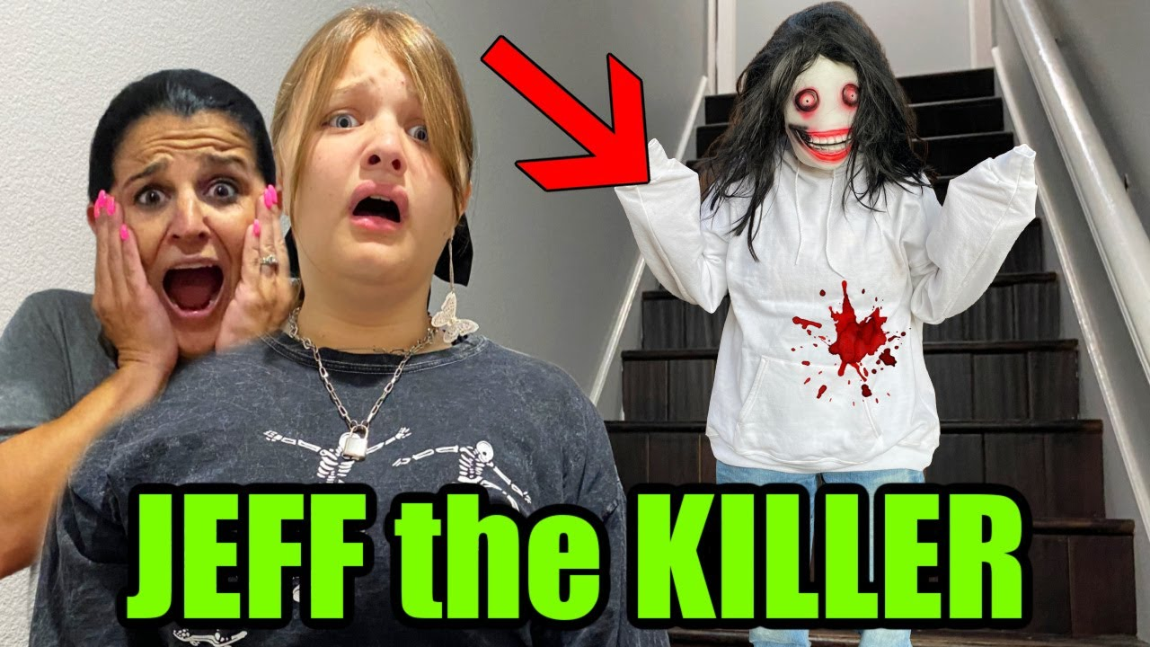 Download JEFF the KILLER IN OUR HOUSE!!