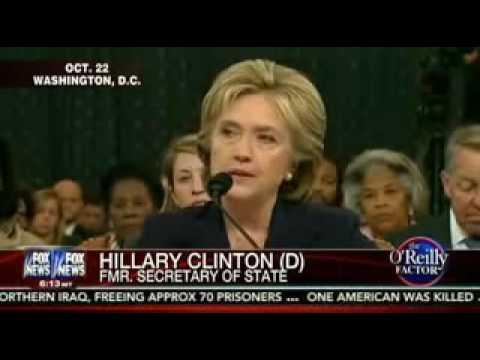 Bill Oreilly   Hillary Clinton Benghazi Hearing Full segment 10222015
