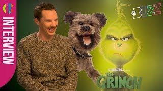 Benedict Cumberbatch answers your questions! | The Grinch