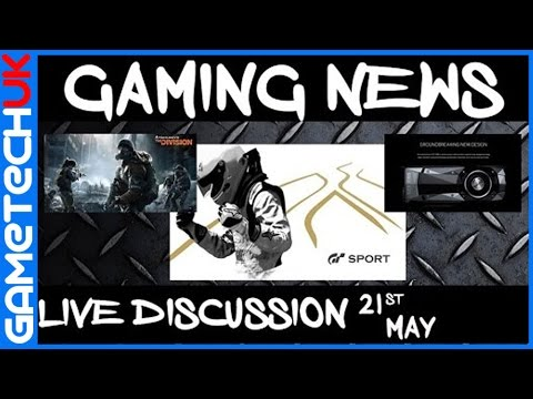 Gaming News Roundup  Channel Shoutout The Division 1.2/GT Sport/Nvidia GTX1080