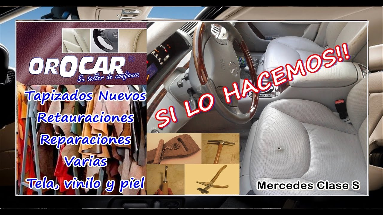 Reparaci n y arreglo tapicer a asientos coches madrid - Tapiceros madrid ...