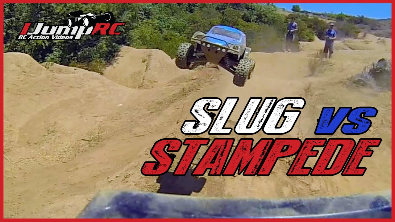 Slug Vs Stampede 4x4 Remote Controlled Dog Fight Youtube Thread Vxl Press Release And Pics