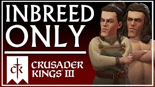 Creating the Most Inbred Dynasty in Crusader Kings 3
