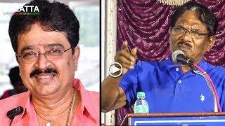 அந்த சொறி நாயின் பெயரை கூட சொல்ல மாட்டேன் - Bharathiraja on S Ve Shekher Controversy