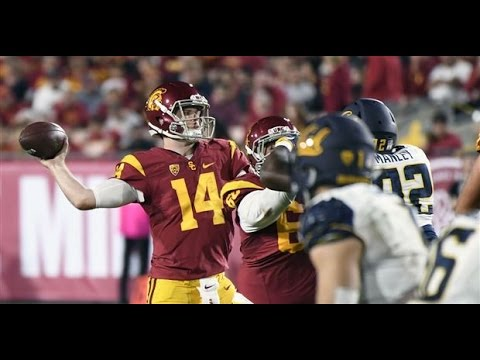 Sam Darnold vs Cal 2016 | All Pass Attempts (Commentary & Replays)