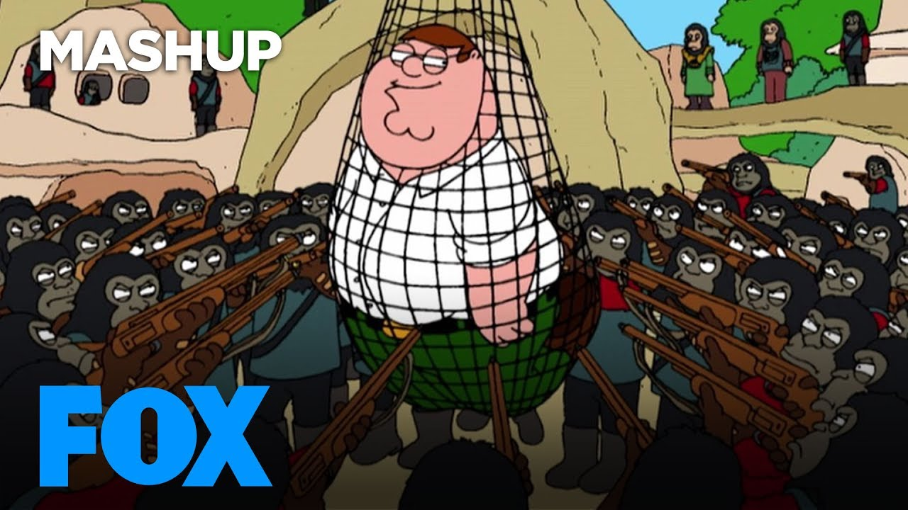 Apes Take Over FOX Animation | FOX BROADCASTING