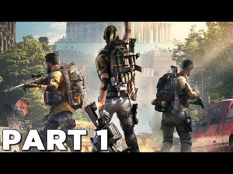 THE DIVISION 2 Walkthrough Gameplay Part 1 - INTRO (PS4 Pro)