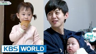 Video Rohui meets former U-KISS member Dong-ho and his son Ahsel [The Return of Superman / 2017.03.19] download MP3, 3GP, MP4, WEBM, AVI, FLV November 2017