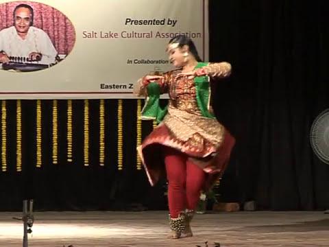 Anurekha Ghosh performs Classical Kathak Dance at Salt Lake Music Conference in Jan 2011