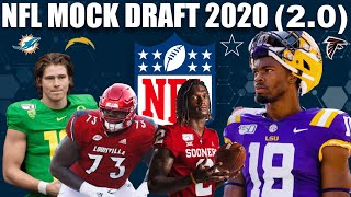 TWO Round NFL Mock Draft 2020 (With Trades)