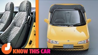 homepage tile video photo for The Honda Beat Was the World's Cutest Car