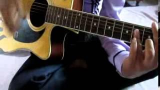 main rang sharbaton ka guitar chords lesson