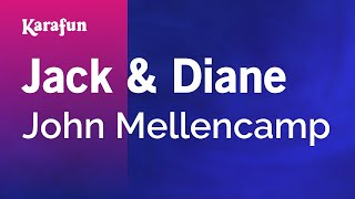 Karaoke Jack & Diane - John Mellencamp *