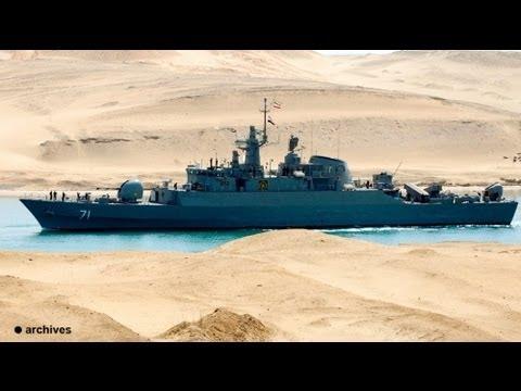 Navios de guerra iranianos atravessaram Canal Suez