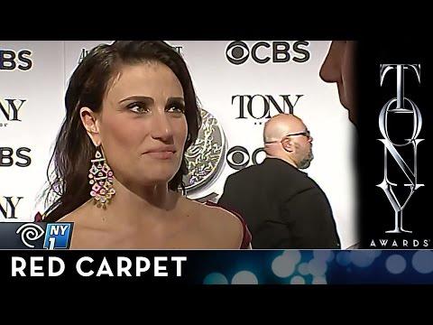 2014 Tony Awards - Idina Menzel on the Audemars Piguet Red Carpet