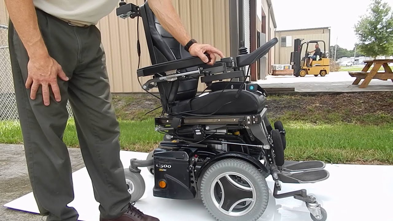Permobil C500VS Standing Wheel Chair Tilt Recline Seat Lift
