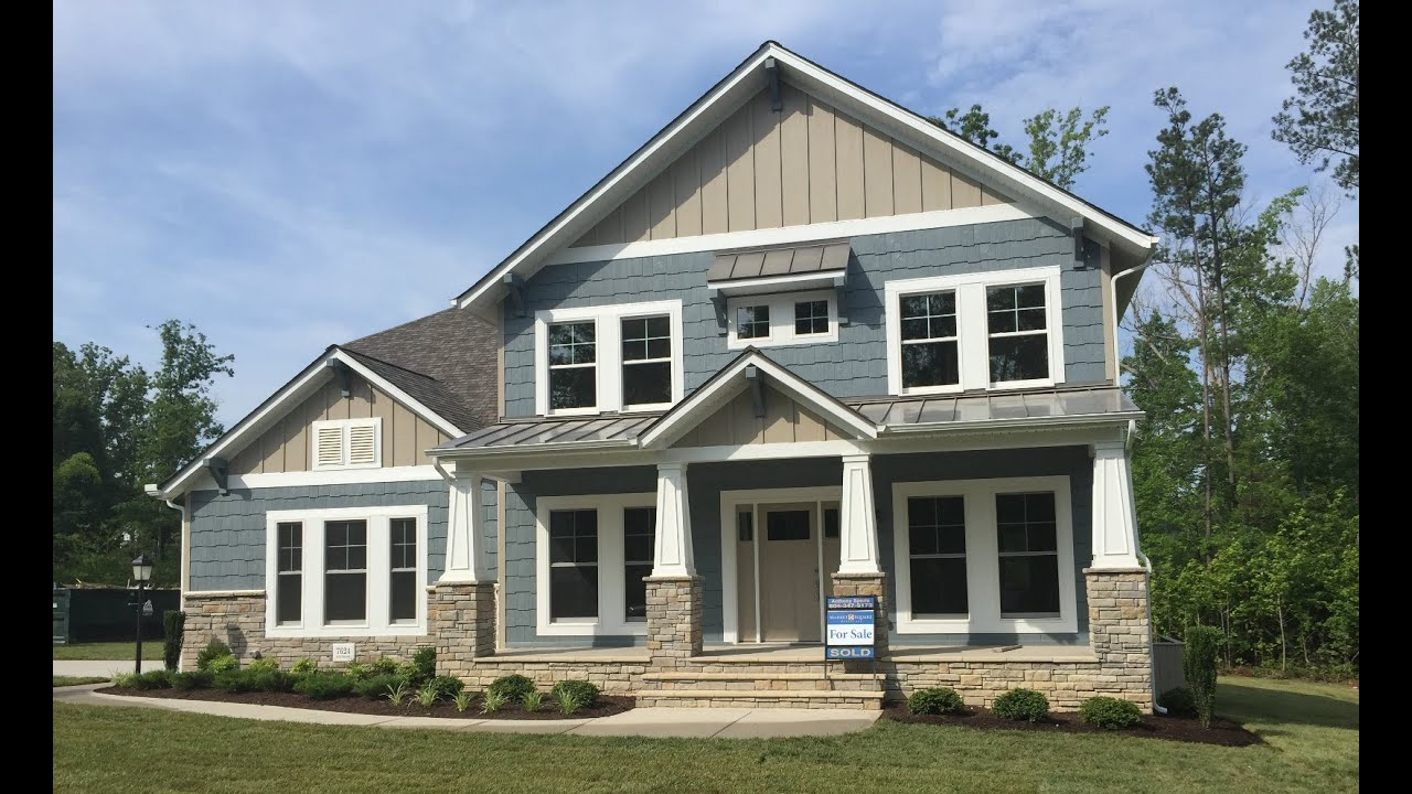 beautiful craftsman home builders #9: The Craftsman Bronte in Magnolia Green - LifeStyle Home Builders - YouTube