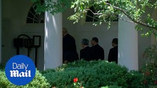 North Koreans envoy arrives at White House to meet with Trump