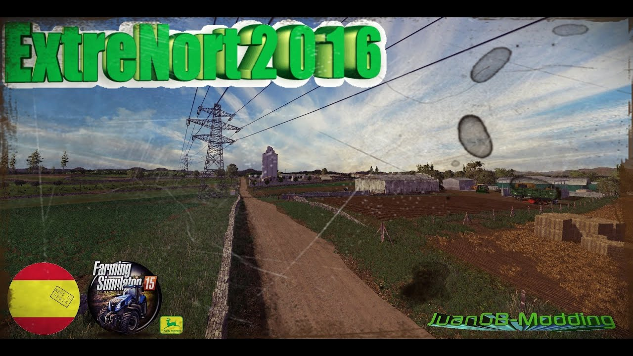 HD Map ExtreNort Oficial Video YouTube - Argentina map farming simulator 2013