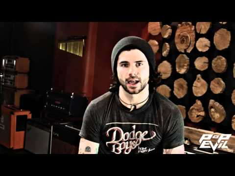 """Pop Evil """"Trenches"""" - Onyx - In The Studio 2013"""