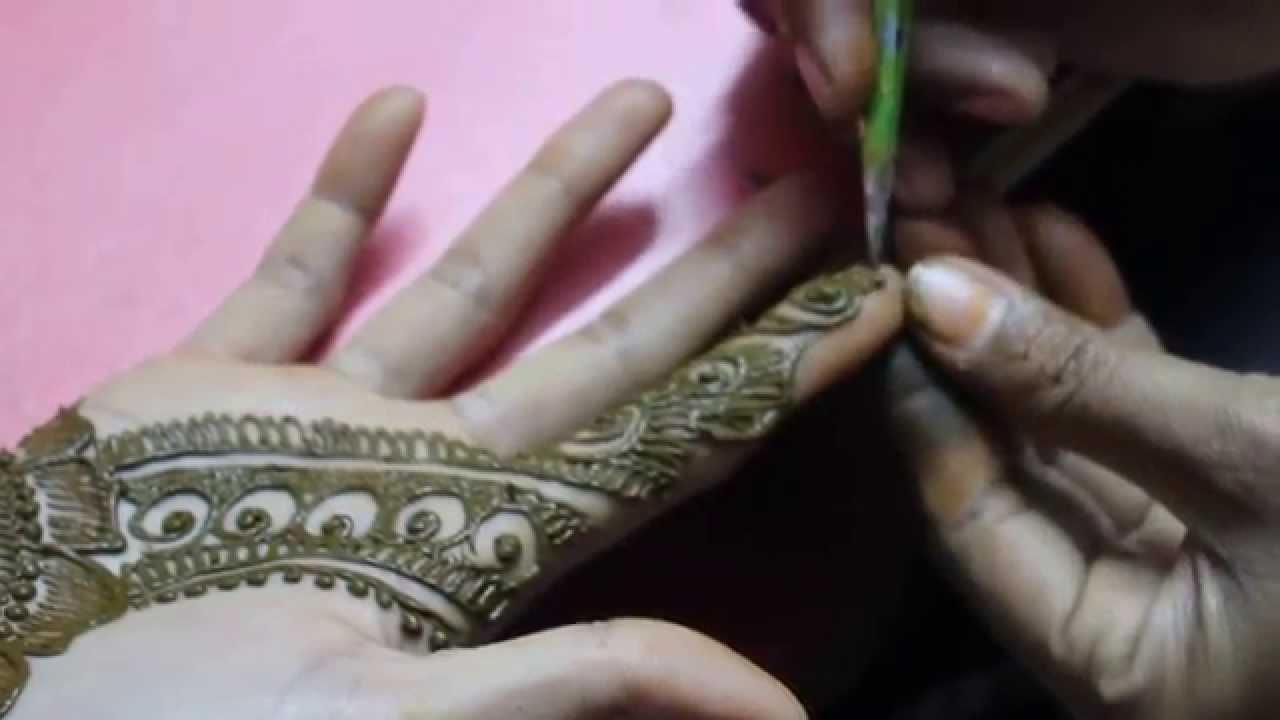 Modern Arabic Mehndi Designs 2014 : New stylish mehndi design for hands easy steps designs